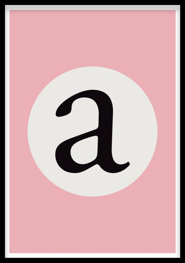 Personalised Alphabet Wall Art