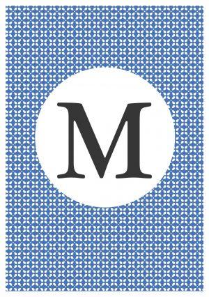 Personalised Arabic Alphabet