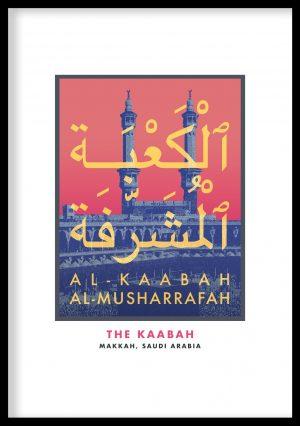 Kaabah Vintage Poster
