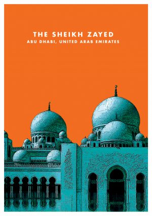Sheikh Zayed Grand Mosque Wall Art