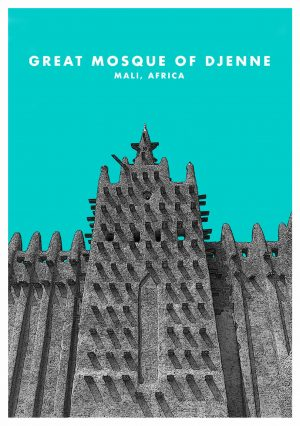 Great Mosque of Djenne Mali Wall Art