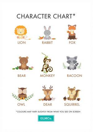 GLMCo Character Chart
