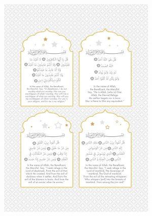 4 Quls Art Print